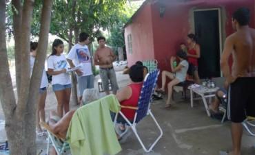 Relevamiento territorial por La Cámpora Ramallo