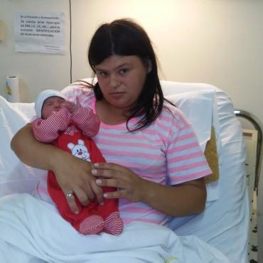 Una beba fue el primer nacimiento del 2015 en Ramallo