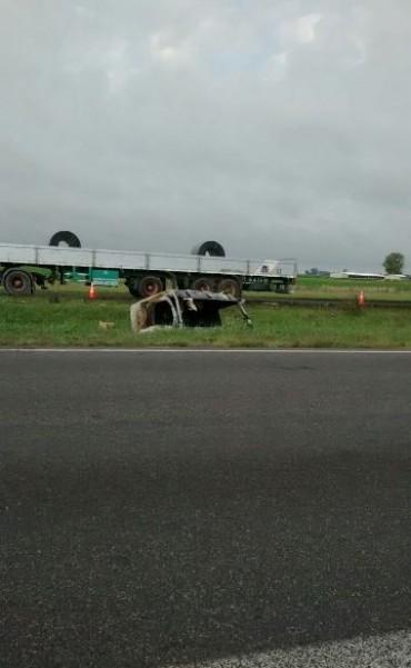 Accidente en el km 201
