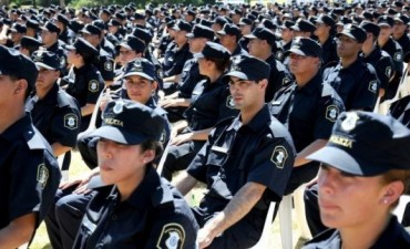 En total son 23 policías los que fueron trasladados al Operativo