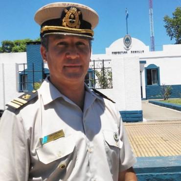 Carlos René Mafka es el nuevo jefe de Prefectura Ramallo