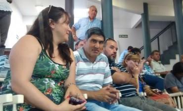 """Adrián Lescano """"Repudiamos todos los despidos"""""""