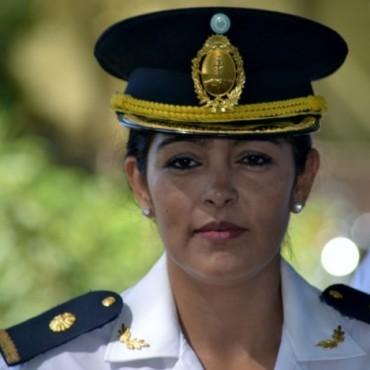 La comisario Myriam Acosta asume como jefe distrital