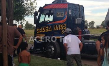 Fatal accidente en Villa Ramallo