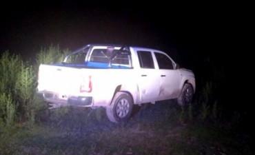 Apareció en San Pedro la camioneta robada en Pérez Millán
