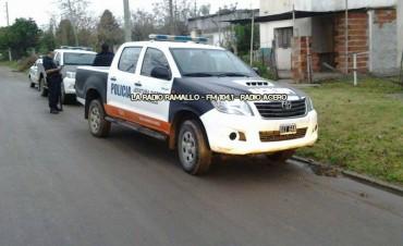 Informe policial Comisaría Segunda Villa Ramallo