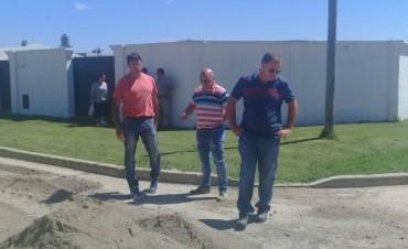 Recorrida del Intendente Poletti en Villa Ramallo