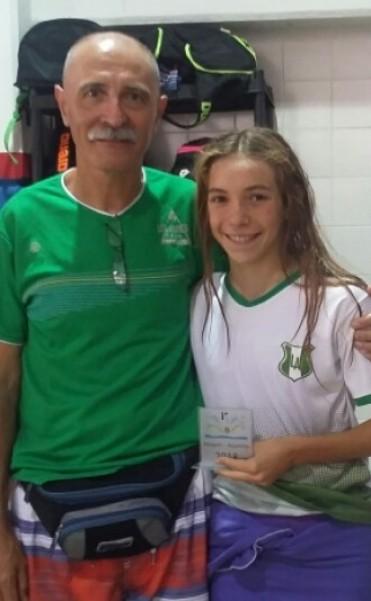 Catalina Oviedo campeona Nacional en Neuquén