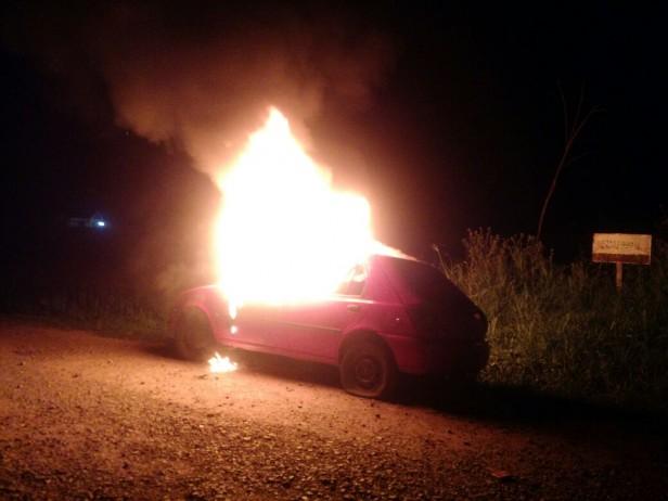 Incendio en barrio Las Ranas