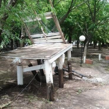 Las lluvias destruyeron el complejo Cascadas Manantiales