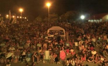 Espectacular marco de público en la fiesta por el 129º Aniversario de Villa Ramallo