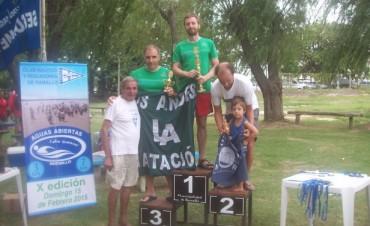 Federico Pagnanini fue el Primero de Ramallo en la competencia de Aguas Abiertas