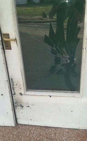 Intento de robo o vandalismo?