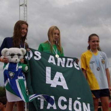Catalina Oviedo Campeona Nacional de Natación en Rosario