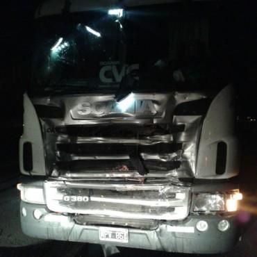 Dos muertos en un accidente en el kilómetro 212 de la ruta 9