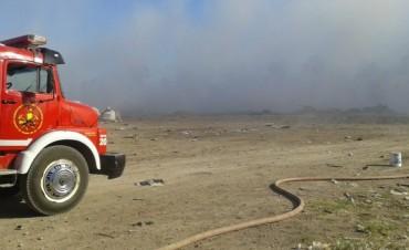 Días de intenso trabajo para los bomberos