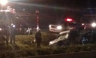 Accidente en el kilómetro 215 de ruta 9