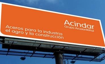 Villa Constitución: Acindar cierra diez días