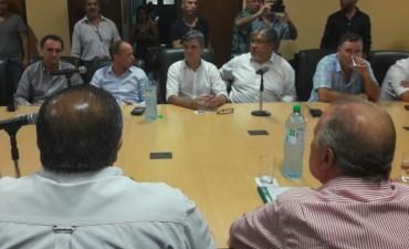 El Intendente Poletti participó de la reunión en la CGT