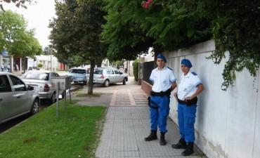 La policía local ya camina las calles de Villa Ramallo