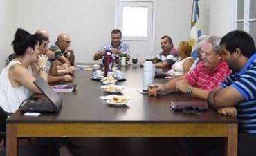 El Intendente Poletti se reunió con representantes de gremios locales