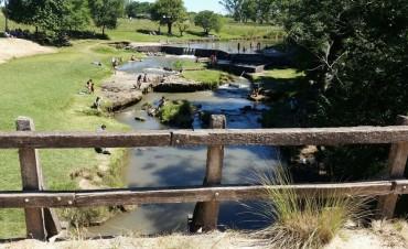 Los camping del arroyo Las Hermanas también recibieron una importante cantidad de visitantes