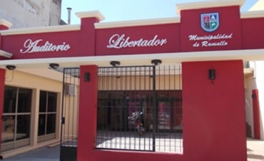 Ciclo de cine por la memoria en el Auditorio Libertador