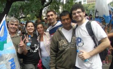 La JP Ramallo dijo presente el 24 en Plaza de Mayo