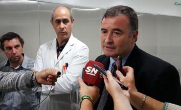 El Intendente Mauro Poletti recorrió la empresa Laboratorios Ramallo S.A.
