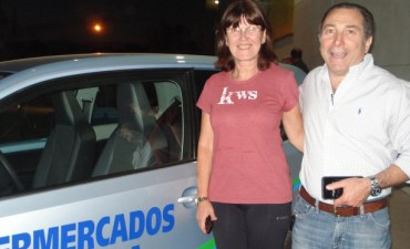 Susana Alonso se ganó el VW UP de Herbe
