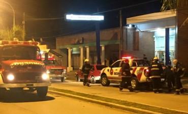 Villa Ramallo: Los bomberos sofocaron un principio de incendio