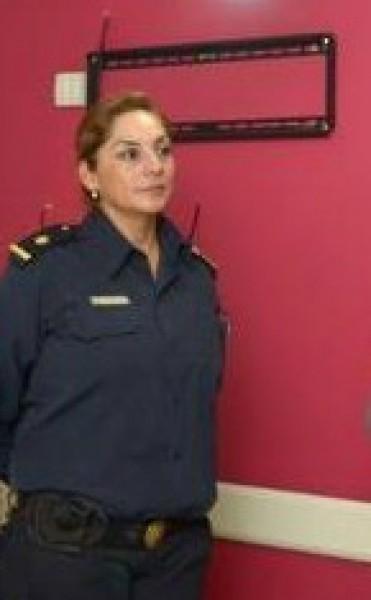 Subcomisario Patricia Giménez