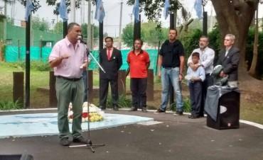 Malvinas Argentinas los ramallenses recordaron a los veteranos y caídos en la guerra