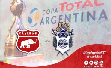 Defensores jugará con Gimnasia y Esgrima de La Plata por la Copa Argentina