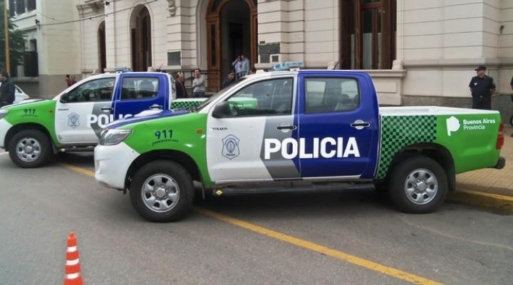 Llegan 4 móviles policiales al Partido de Ramallo