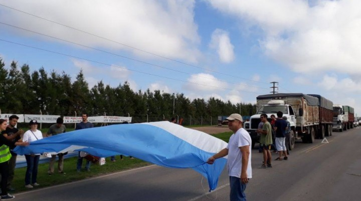 Protesta de UPVA