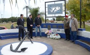 Recordaron al soldado Carlos Ángel González