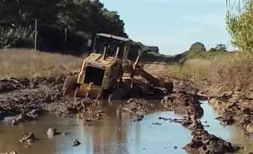 Los caminos rurales y los vecinos esperan respuestas
