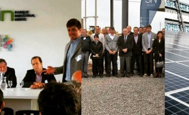 San Nicolás crece: Se inauguró el Parque Industrial Norte