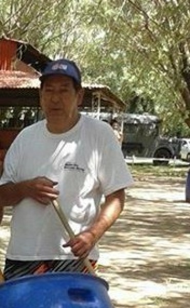 Miguel Russo el profesor de Educación Física que llegó desde San Luis