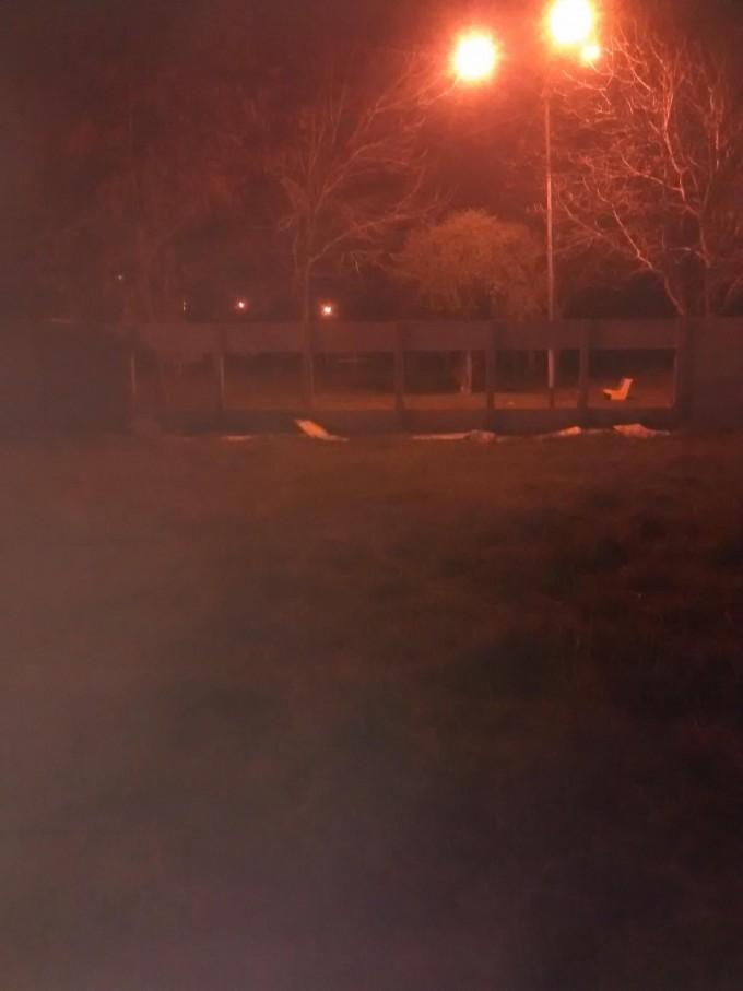 Rompieron un tapial en el cuartel de bomberos