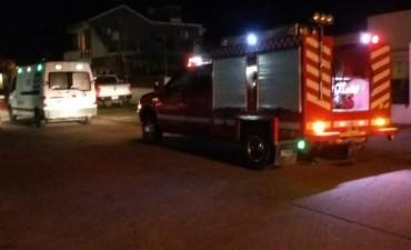 Rápida intervención de bomberos