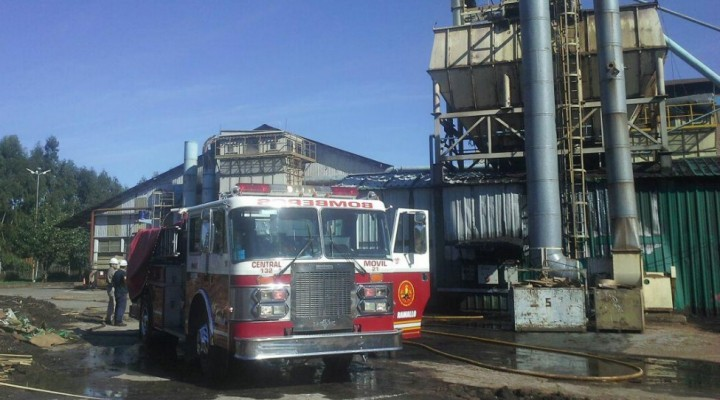 Bomberos sofoca un principio de incendio