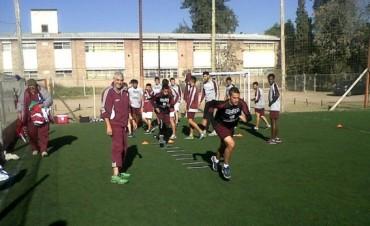 Defensores entrenó en Mendoza