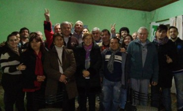 Sergio Heredia recorrió con la diputada Graciela Rego emprendimientos productivos