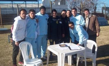 Rosario Central visitó a Social en una prueba para jóvenes y pequeños futbolistas