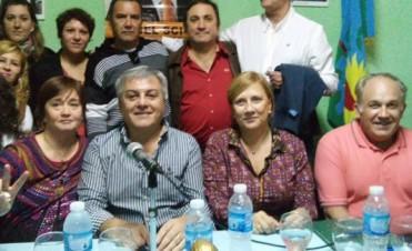 Sergio Heredia presentó la lista que competirá en las PASO del Fpv