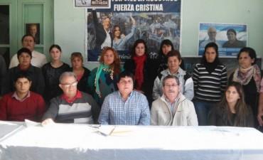César Gomez pre candidato a Intendente del FpV