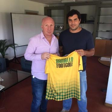 Walter Petunchi se reunió con el Secretario de Deportes de Nación