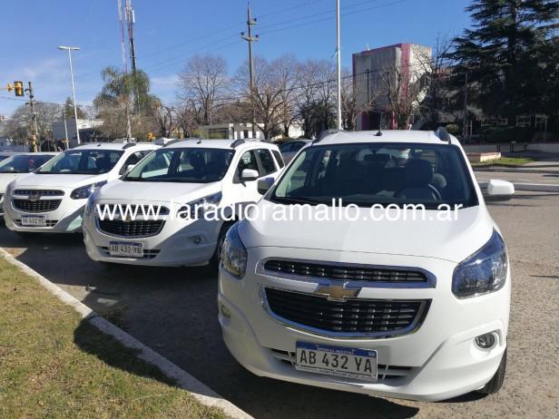 La Municipalidad de Ramallo presentó 3 Vehículos Nuevos para el Área de Seguridad